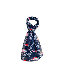 Forever Collectibles New England Patriots All Over Logo Infinity Scarf