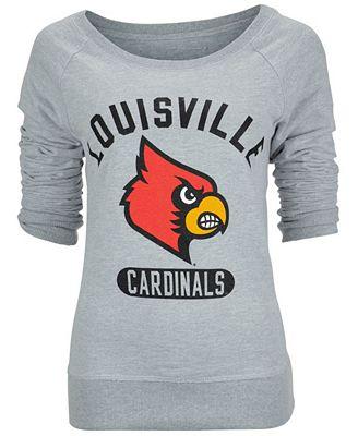 camp david women 39 s louisville cardinals paige crew t shirt. Black Bedroom Furniture Sets. Home Design Ideas