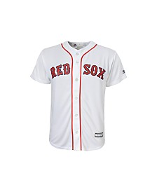 Majestic Boston Red Sox Replica Jersey, Big Boys (8-20)