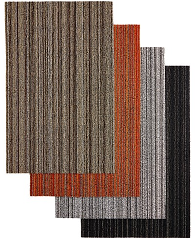 Chilewich Skinny Stripe Utility Floor Mat, 24 x 36