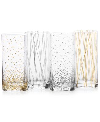 Cheers Party Highball Glasses, Set of 4