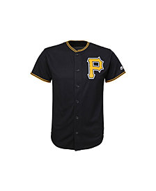 Majestic Kids' Pittsburgh Pirates Replica Jersey, Big Boys (8-20)