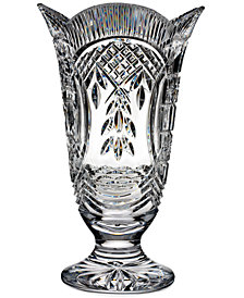 Waterford Master Craftsmen Collection Crystal Four Season Footed Vase
