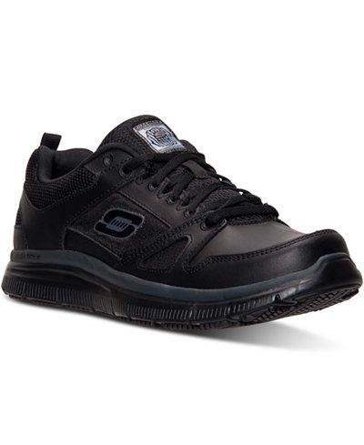 Skechers Men's Work Relaxed Fit: Flex Advantage SR Sneakers from Finish Line