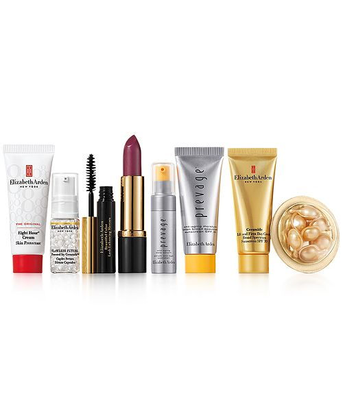 Elizabeth Arden Receive a FREE 7-Pc. Gift with $32.50 Elizabeth Arden skin care or makeup purchase