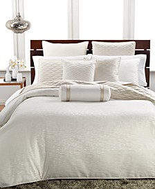 CLOSEOUT! Woven Texture Bedding Collection, Created for Macy's