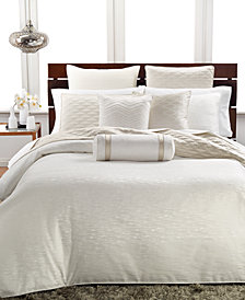Hotel Collection Woven Texture Duvet Covers, Created for Macy's
