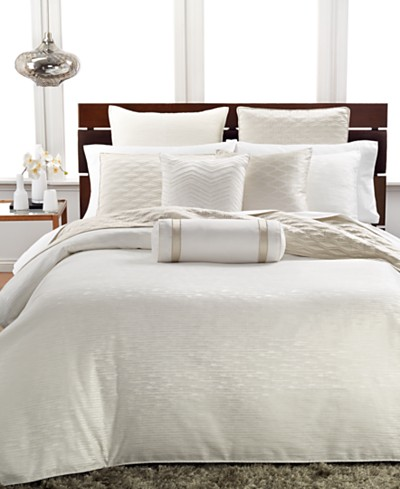 Hotel Collection Woven Texture Comforters, Created for Macy's