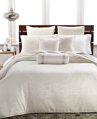 Hotel Collection Woven Texture King Duvet Cover Bedding