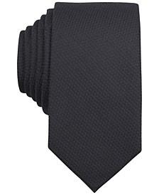 Solid Knit Skinny Tie