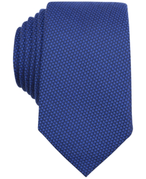 1950s Men's Ties, Skinny, Knit, Traditional Ties Bar Iii Carnaby Collection Solid Knit Skinny Tie $34.99 AT vintagedancer.com