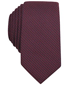 Solid Knit Skinny Tie
