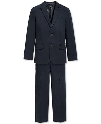 Calvin Klein Bi-Stretch Suit Jacket & Dress Pants, Big Boys