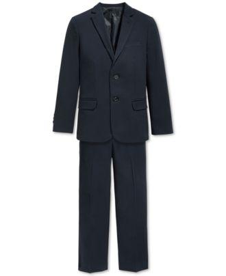 Calvin Klein Boys' Bi-Stretch Suit Jacket & Dress Pants - Sets ...