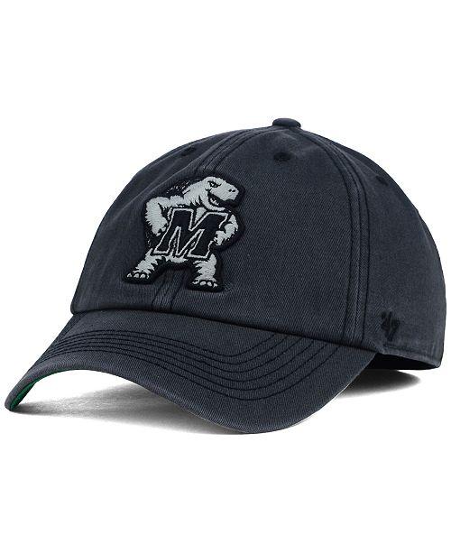 '47 Brand Maryland Terrapins Sachem Cap