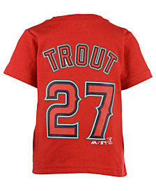 Majestic Babies' Mike Trout Los Angeles Angels of Anaheim Player T-Shirt