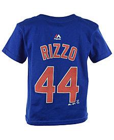 Majestic MLB Name And Number T-Shirt, Little Boys (4-7)