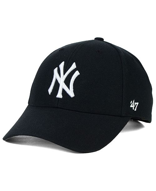 47 Brand New York Yankees MVP Curved Cap - Sports Fan Shop By Lids ... 51ee00883ba