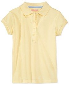 Big Girls School Uniform Polo