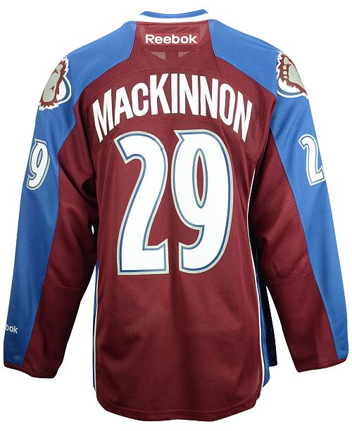 cheap for discount c3b88 4e32d Reebok Men's Nathan MacKinnon Colorado Avalanche Premier ...