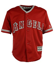 Majestic Toddlers' Los Angeles Angels of Anaheim Replica Jersey