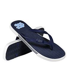 Forever Collectibles North Carolina Tar Heels Thong Sandals