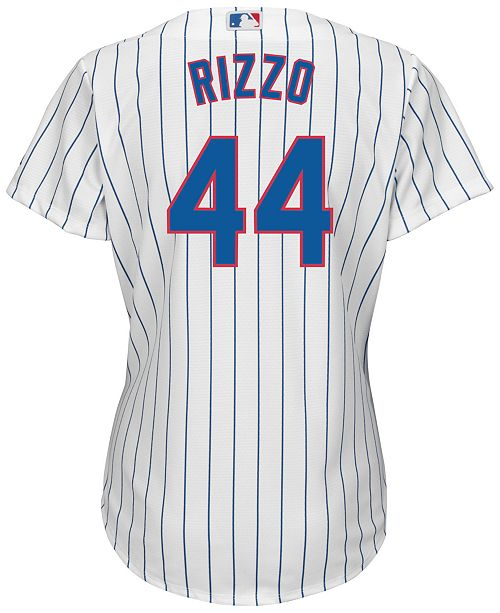 Majestic Women s Anthony Rizzo Chicago Cubs Replica Jersey - Sports ... c9b110ed0
