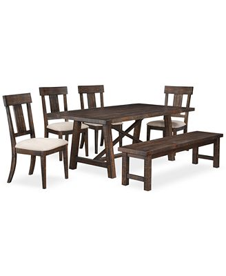 ember 6-piece dining room furniture set, created for macy's
