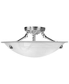 "Oasis 16"" Semi-Flush Mount"