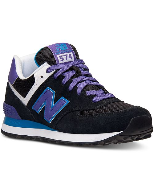 brand new 3c7cb 06662 New Balance Women's 574 Core Plus Casual Sneakers from ...