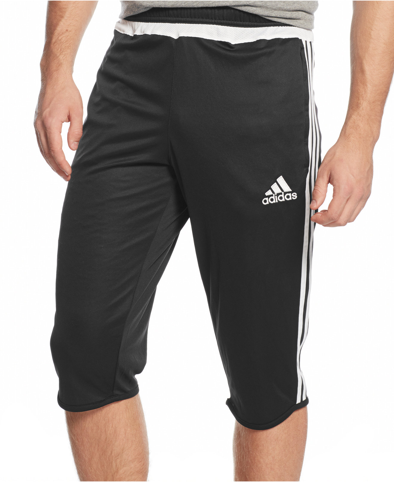men adidas 3 4 pants. Black Bedroom Furniture Sets. Home Design Ideas