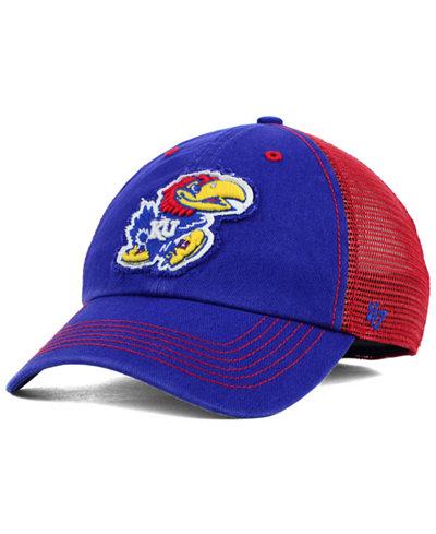 '47 Brand Kansas Jayhawks Tayor Closer Cap