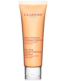 Clarins One-Step Gentle Exfoliating Cleanser With Orange Extract, 4.3-oz.