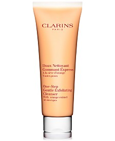 Clarins One-Step Gentle Exfoliating Cleanser With Orange Extract, 4.3 oz.