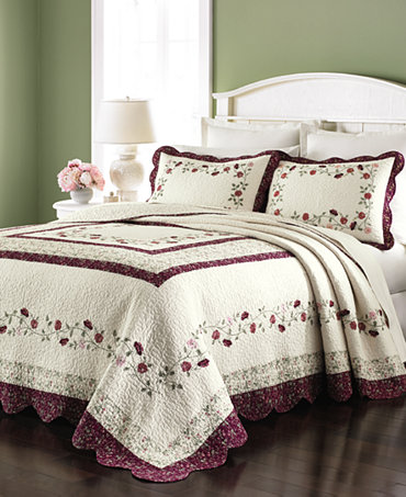Martha Stewart Collection Prairie House Full Bedspreads