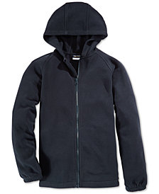 Nautica School Uniform Fleece Full Zip Hoodie, Big Boys