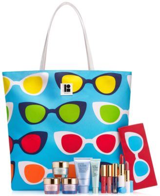 Choose a FREE 7-Pc. Summer Gift with $35 Estée Lauder Skincare or ...