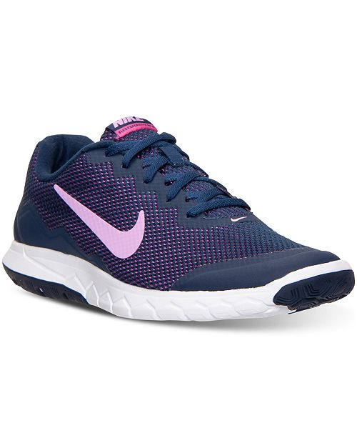 Nike Women s Flex Experience Run 4 Running Sneakers from Finish Line ... ffd4a38806