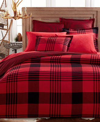 Closeout Martha Stewart Collection Montana Plaid Full