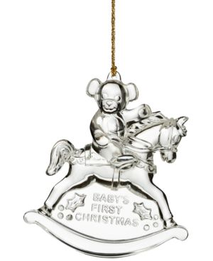 Marquis by Waterford 2015 Baby's First Christmas Ornament