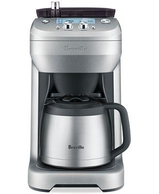 Breville Coffee Maker Black Friday : Breville BDC650BSS Grind Control Coffee Maker - Coffee, Tea & Espresso - Kitchen - Macy s