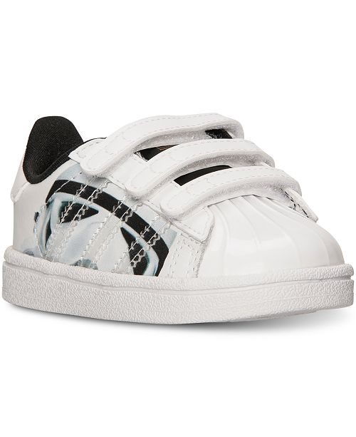 info for bb100 7e44c ... adidas Toddler Boys  Superstar Star Wars Stormtrooper Casual Sneakers  from Finish ...