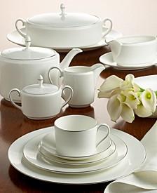 """Ivory Trellis"" Tea Saucer, Imperial"