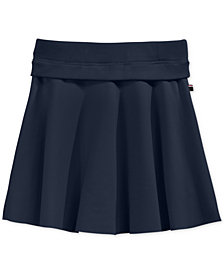Tommy Hilfiger Big Girls Ribbed-Waist Ponte Skirt