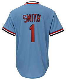 Majestic Kids' Ozzie Smith St. Louis Cardinals Cooperstown Jersey, Big Boys (8-20)