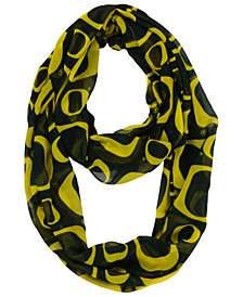 Forever Collectibles Oregon Ducks All Over Logo Infinity Scarf
