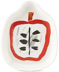 kate spade new york all in good taste Stoneware Apple Spoon Rest
