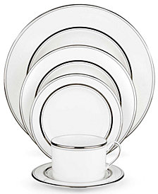 kate spade new york Library Lane Platinum 5 Piece Place Setting