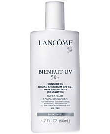 Lancôme Bienfait UV SPF 50+ Super Fluid Facial Sunscreen, 1.7 oz