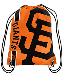 Forever Collectibles San Francisco Giants Big Logo Drawstring Bag